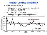natural climate variability1