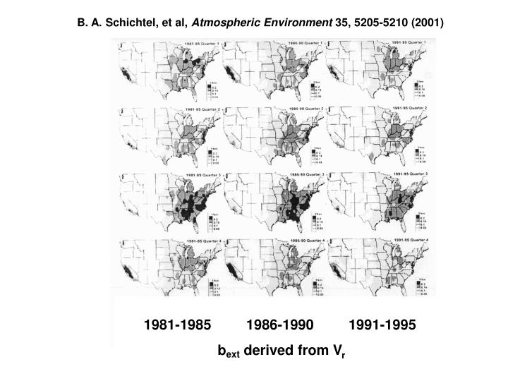 B. A. Schichtel, et al,