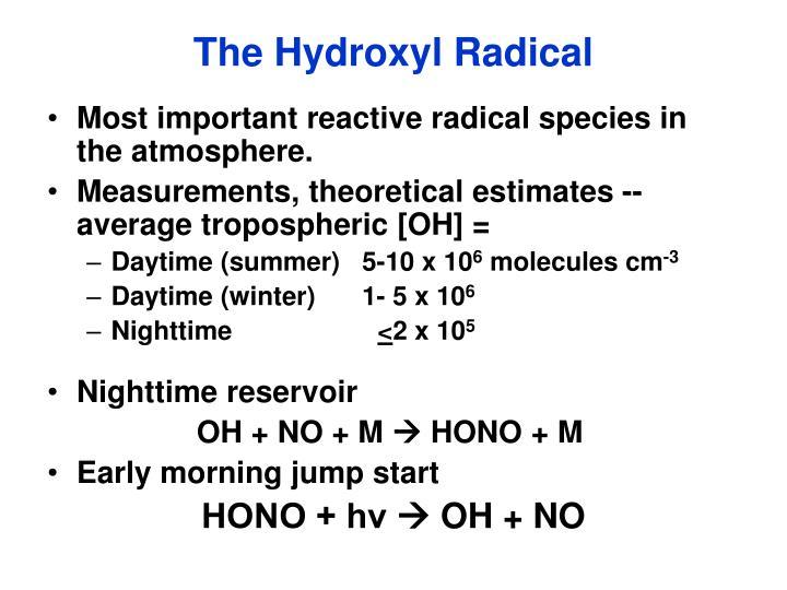 The Hydroxyl Radical