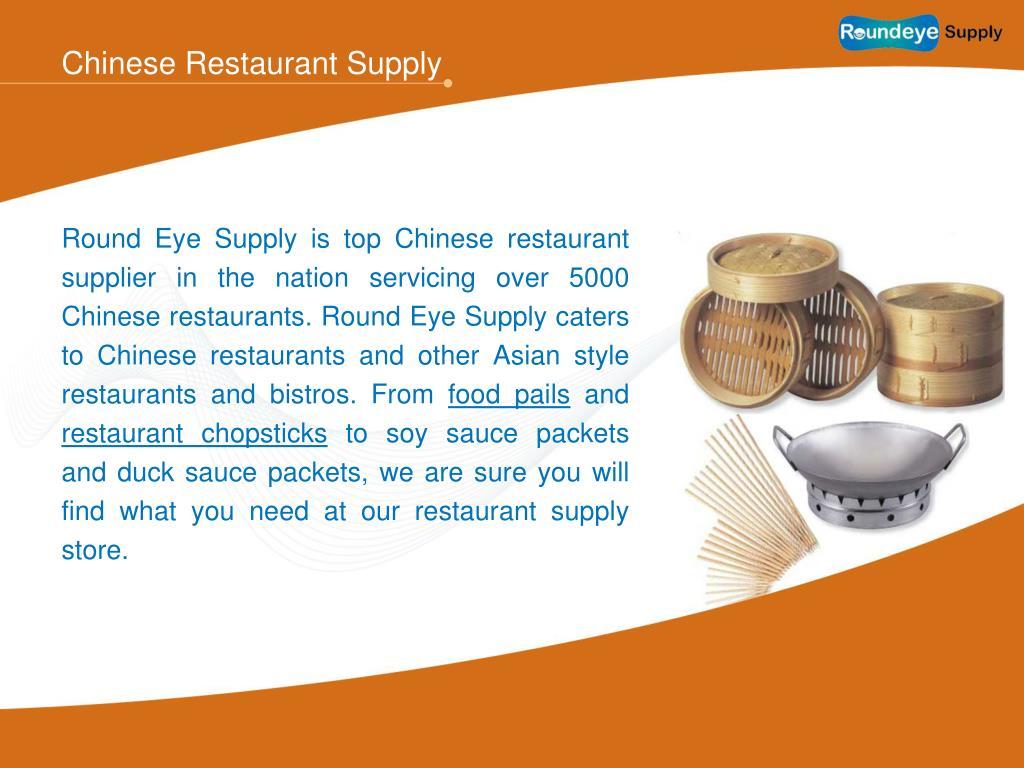 Chinese Restaurant Supply