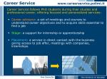 career service www careerservice polimi it