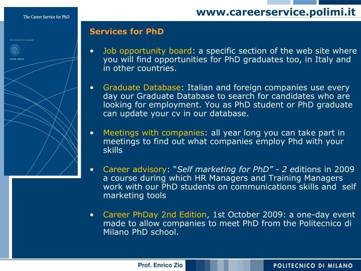 www.careerservice.polimi.it