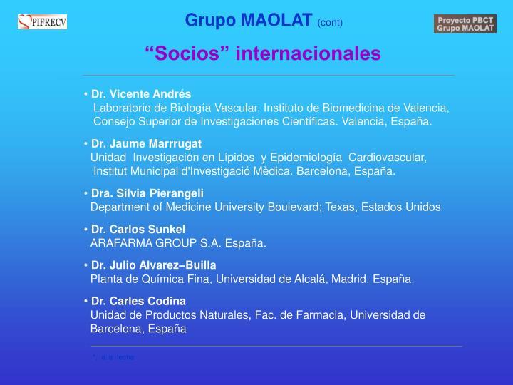 Grupo MAOLAT