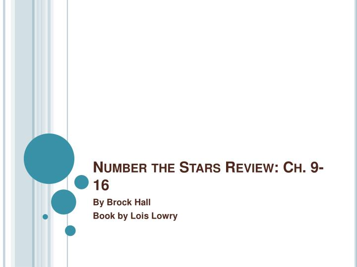 Number the stars review ch 9 16