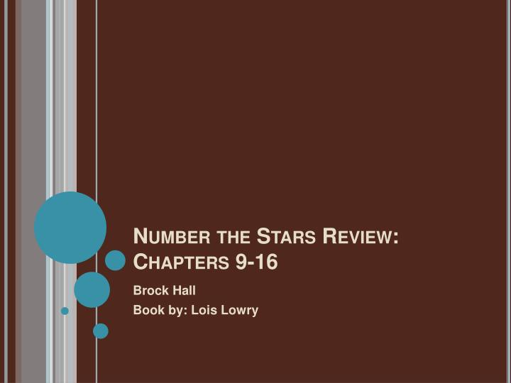 Number the Stars Review: Chapters 9-16