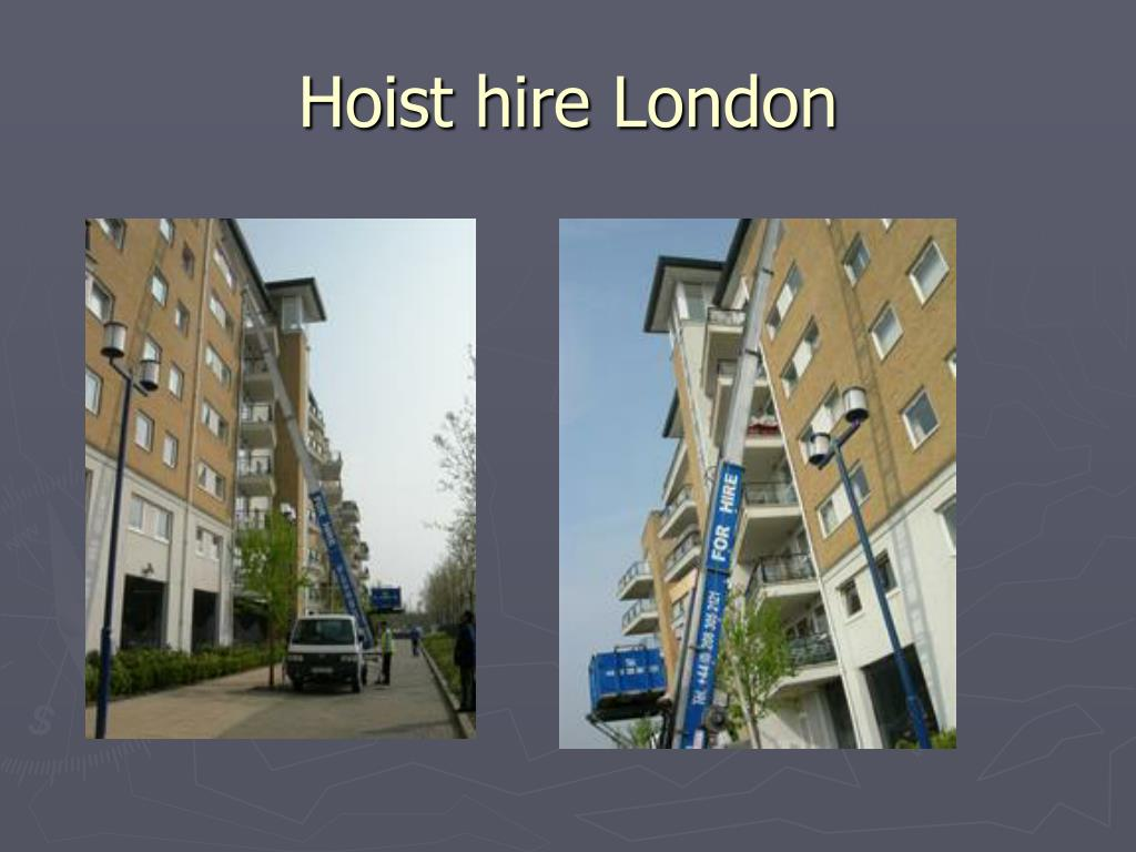 Hoist hire London