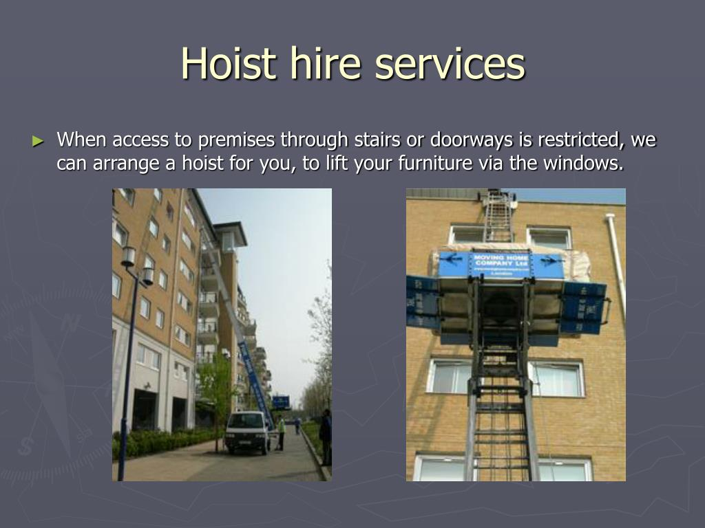 Hoist hire services