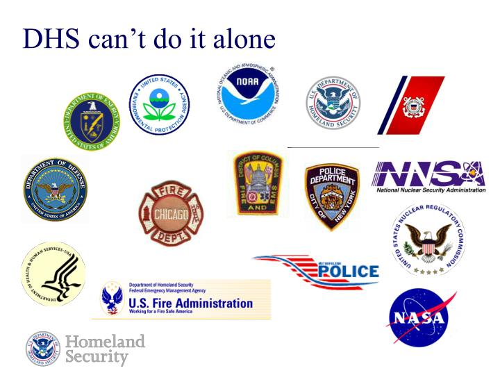 DHS can't do it alone