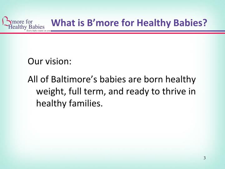 What is b more for healthy babies1