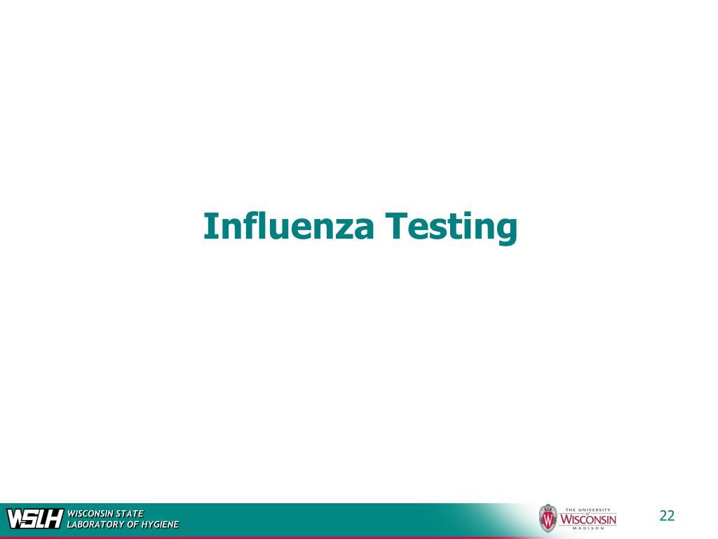 Influenza Testing