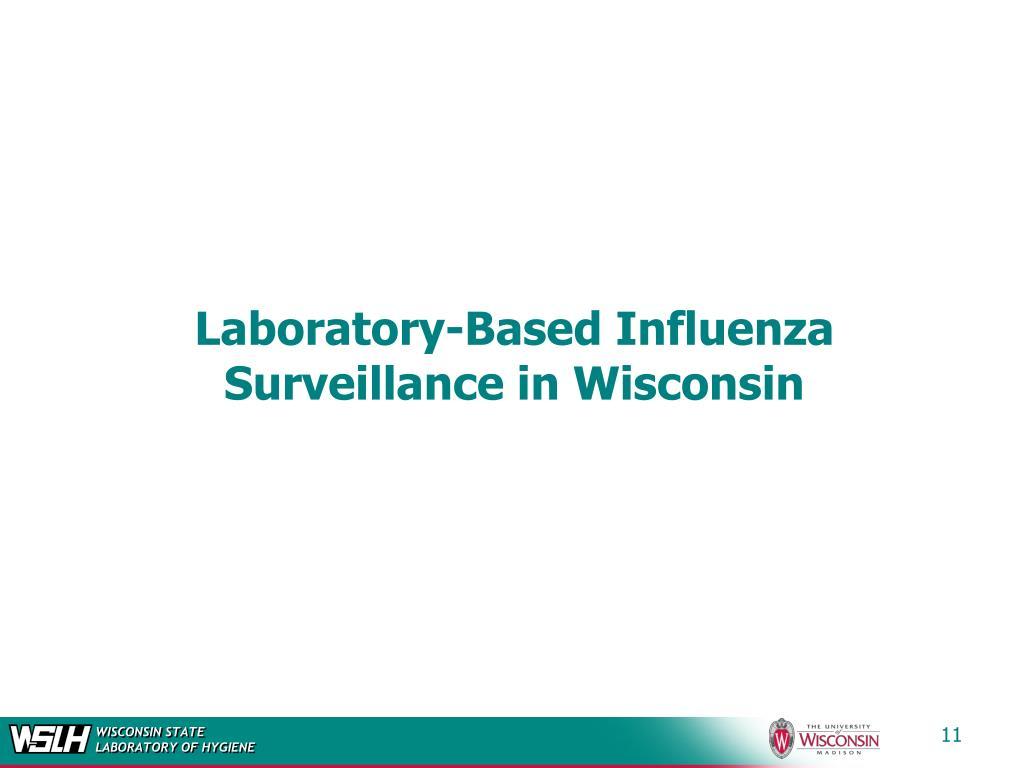Laboratory-Based Influenza Surveillance in Wisconsin