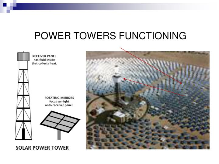 POWER TOWERS FUNCTIONING