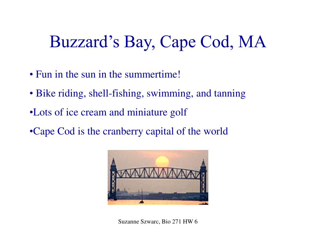 Buzzard's Bay, Cape Cod, MA