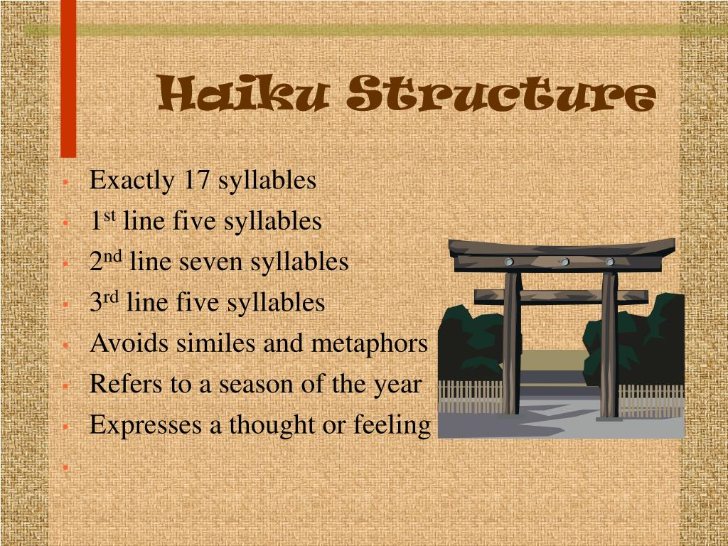 Haiku Structure