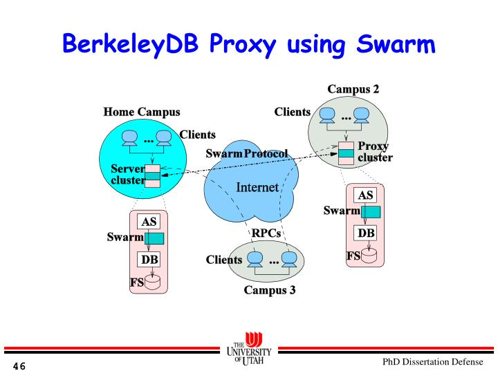 BerkeleyDB Proxy using Swarm