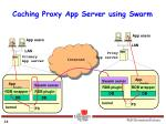 caching proxy app server using swarm