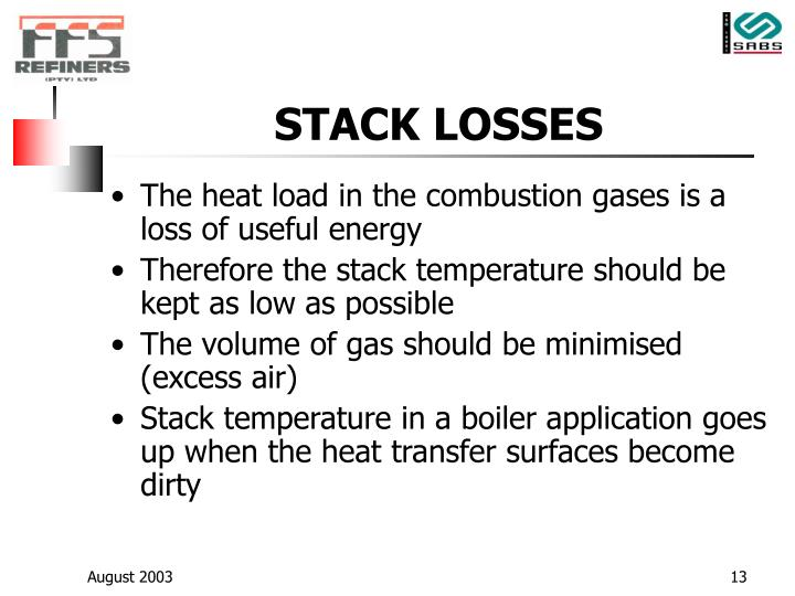 STACK LOSSES