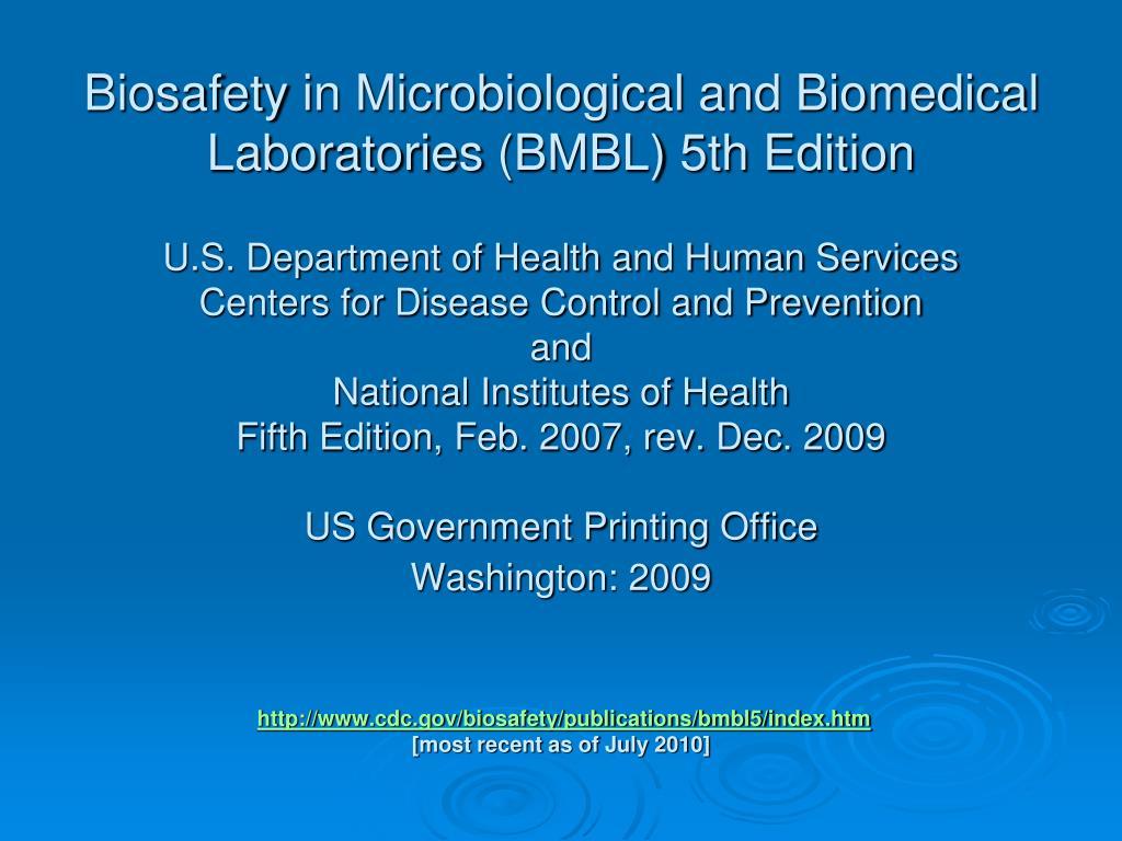 Biosafety