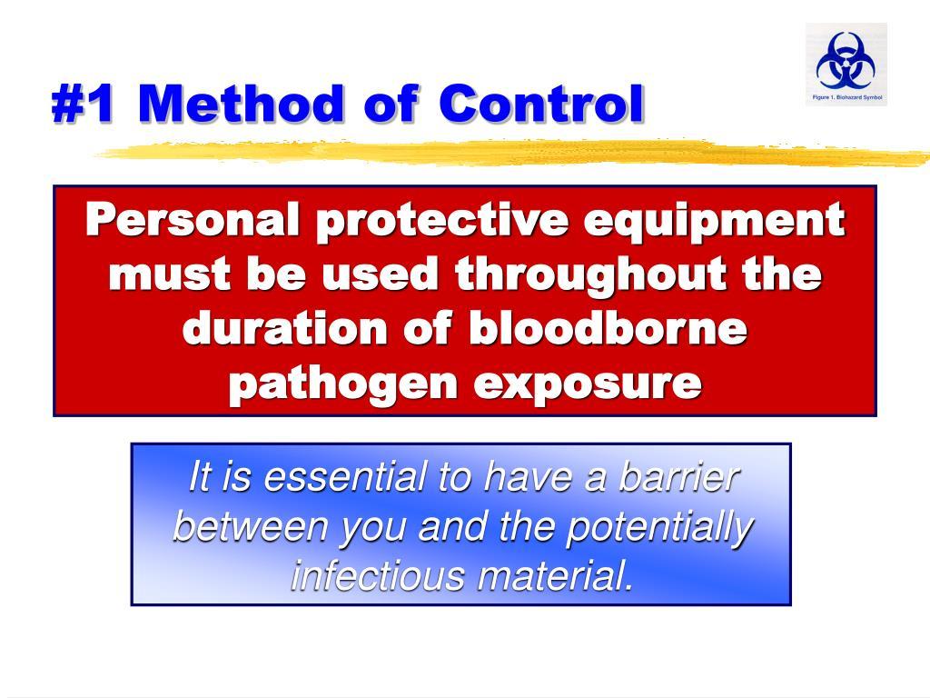 #1 Method of Control