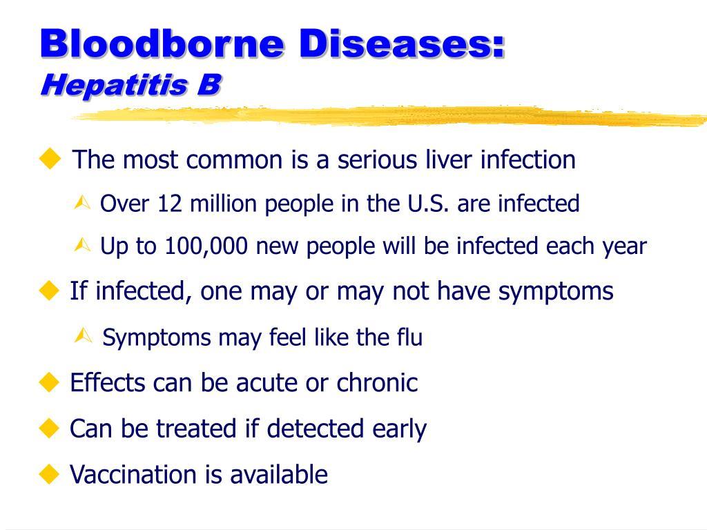 Bloodborne Diseases: