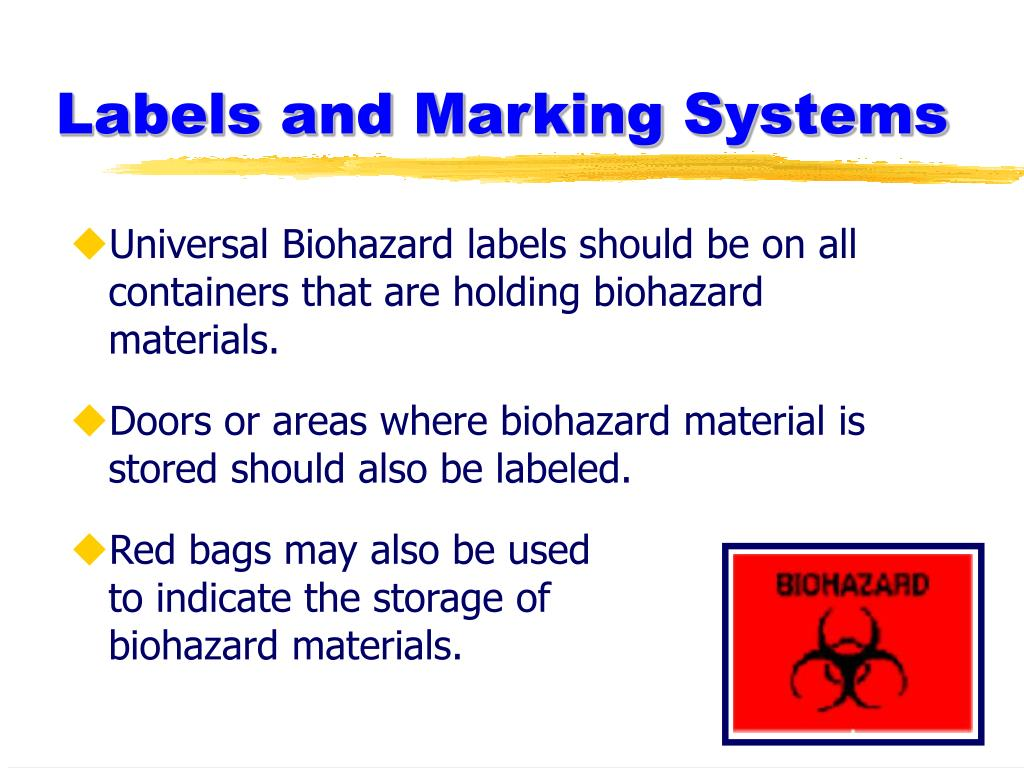 Labels and Marking Systems