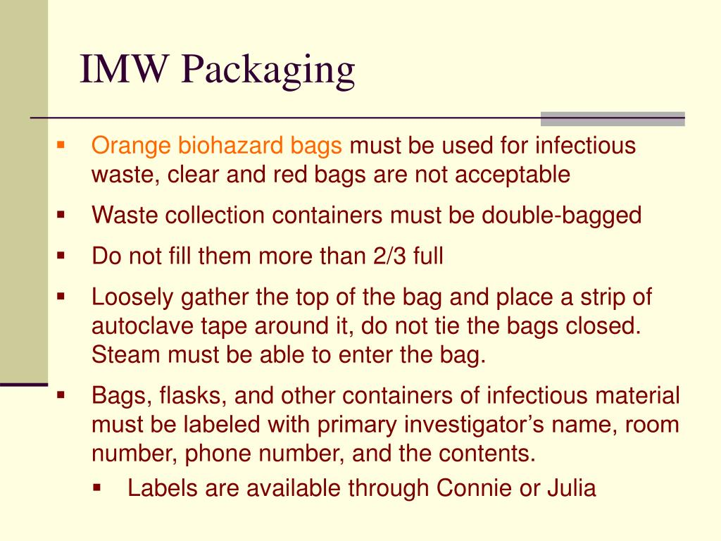 IMW Packaging