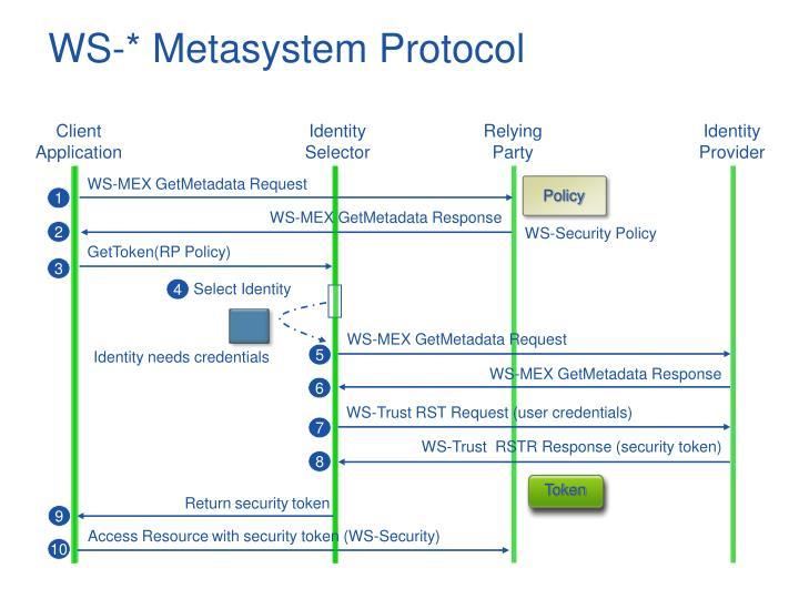 WS-* Metasystem Protocol