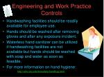 engineering and work practice controls18