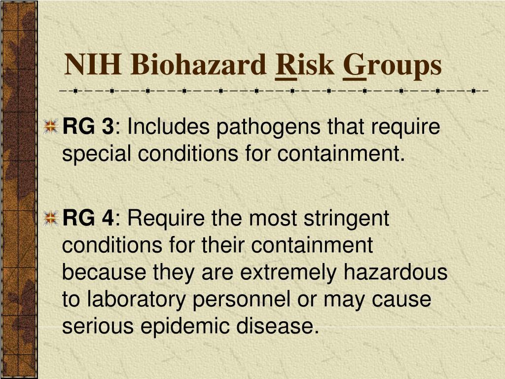 NIH Biohazard