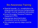 bio awareness training9