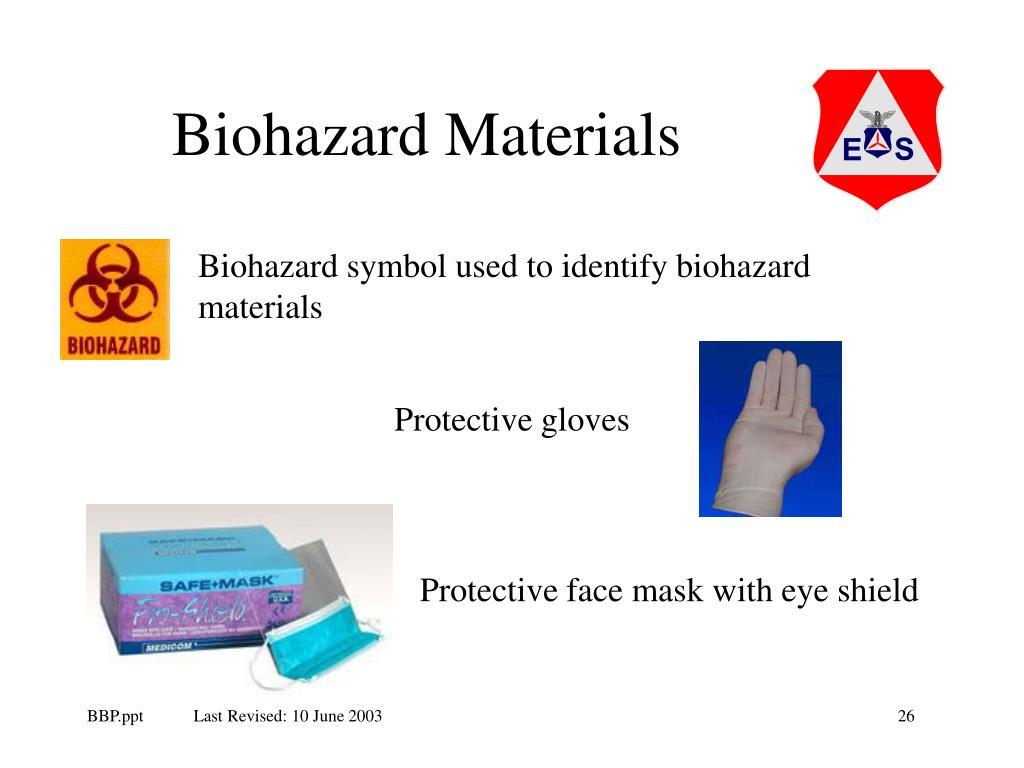 Biohazard Materials