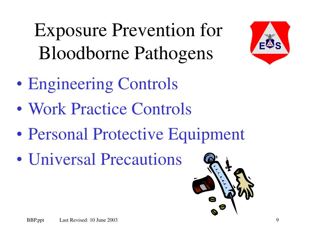 Exposure Prevention for Bloodborne Pathogens