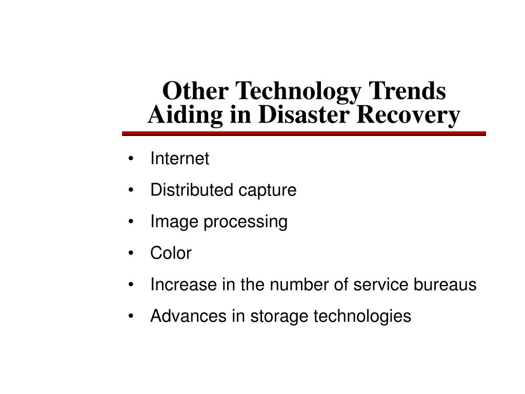 Other Technology Trends