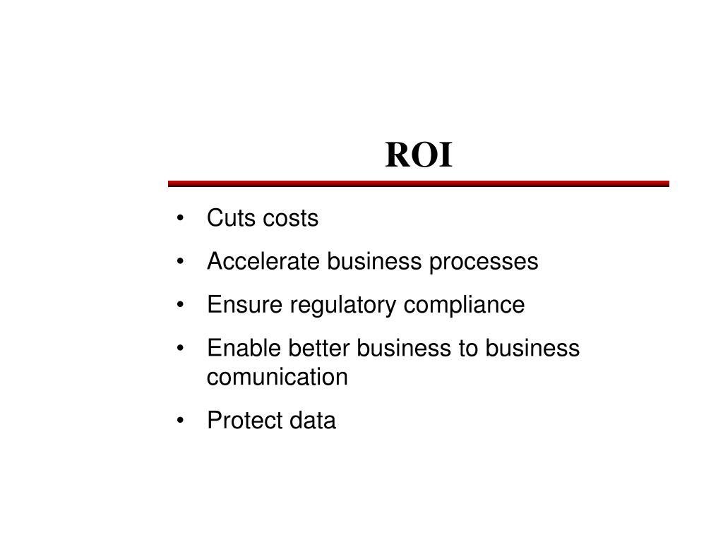 Cuts costs