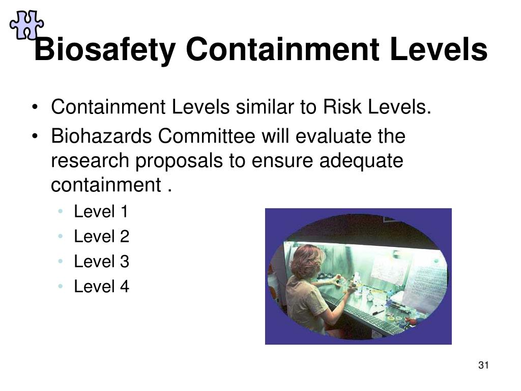 Biosafety Containment Levels