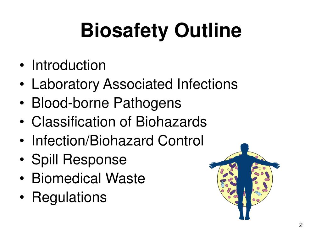 Biosafety Outline