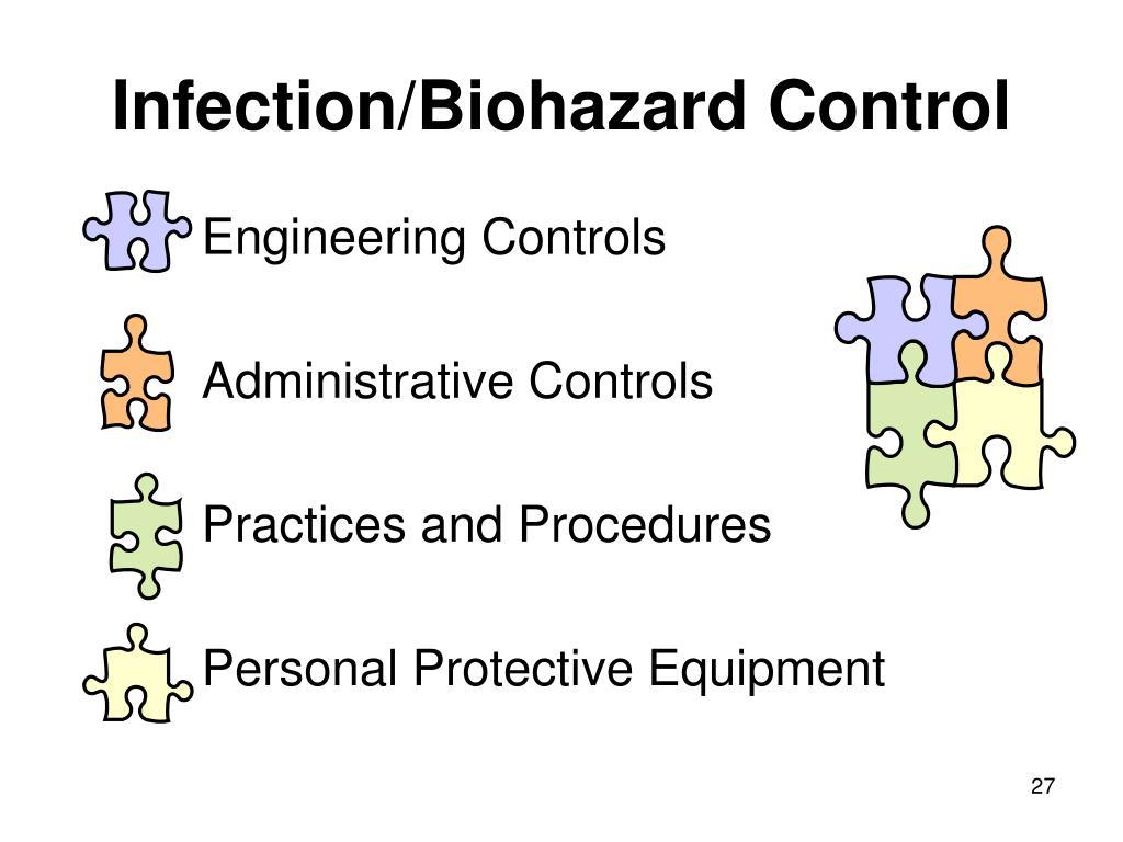 Infection/Biohazard Control