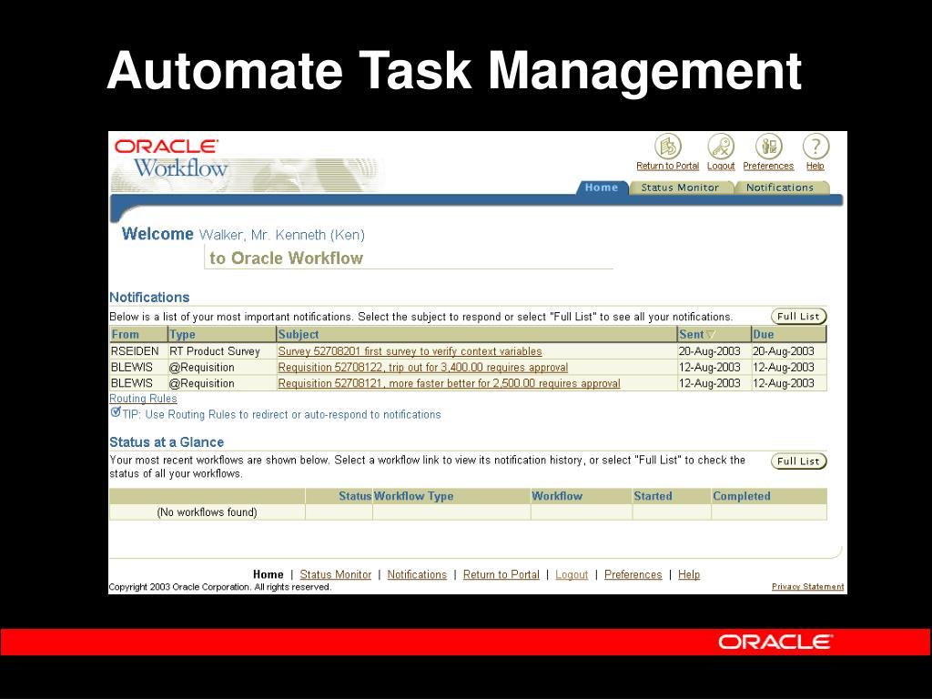 Automate Task Management