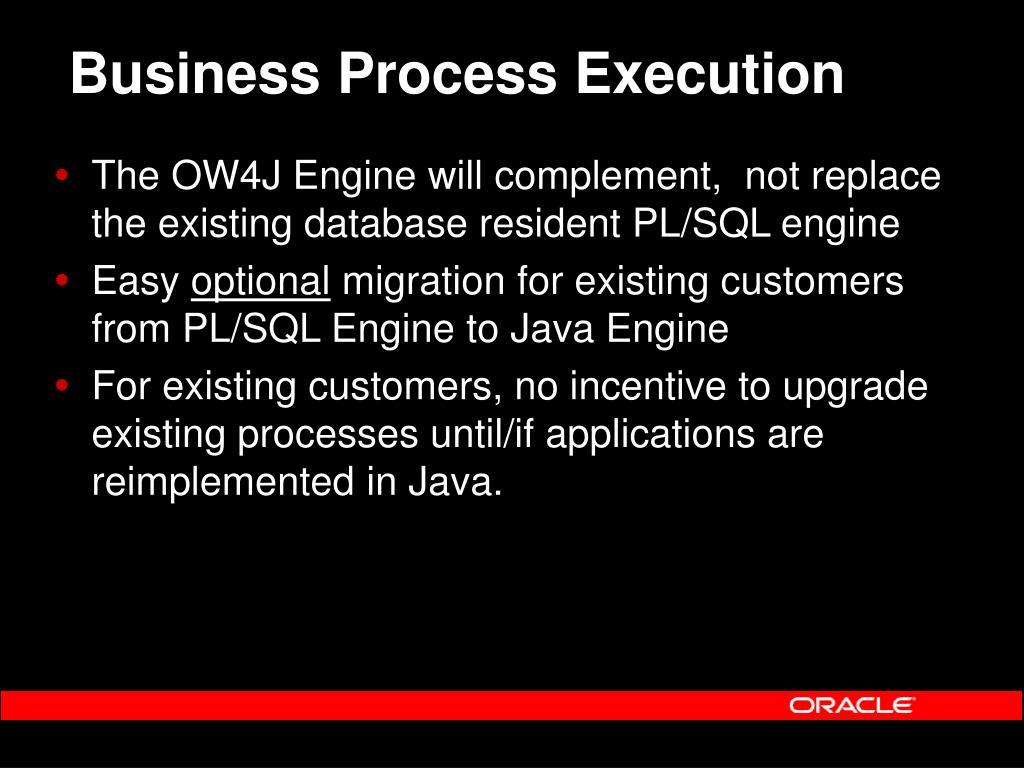 Business Process Execution