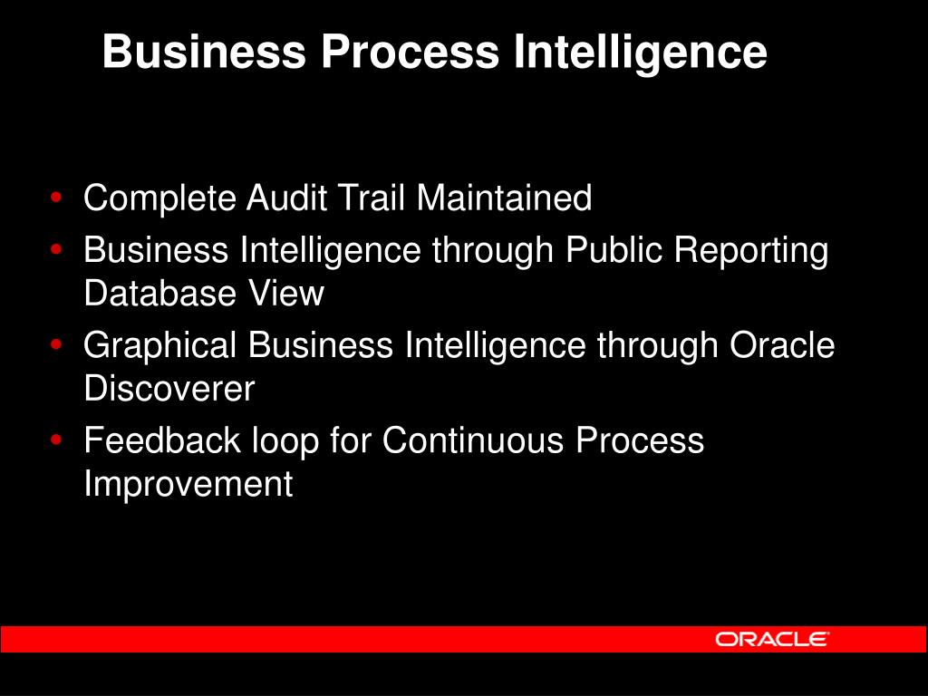 Business Process Intelligence