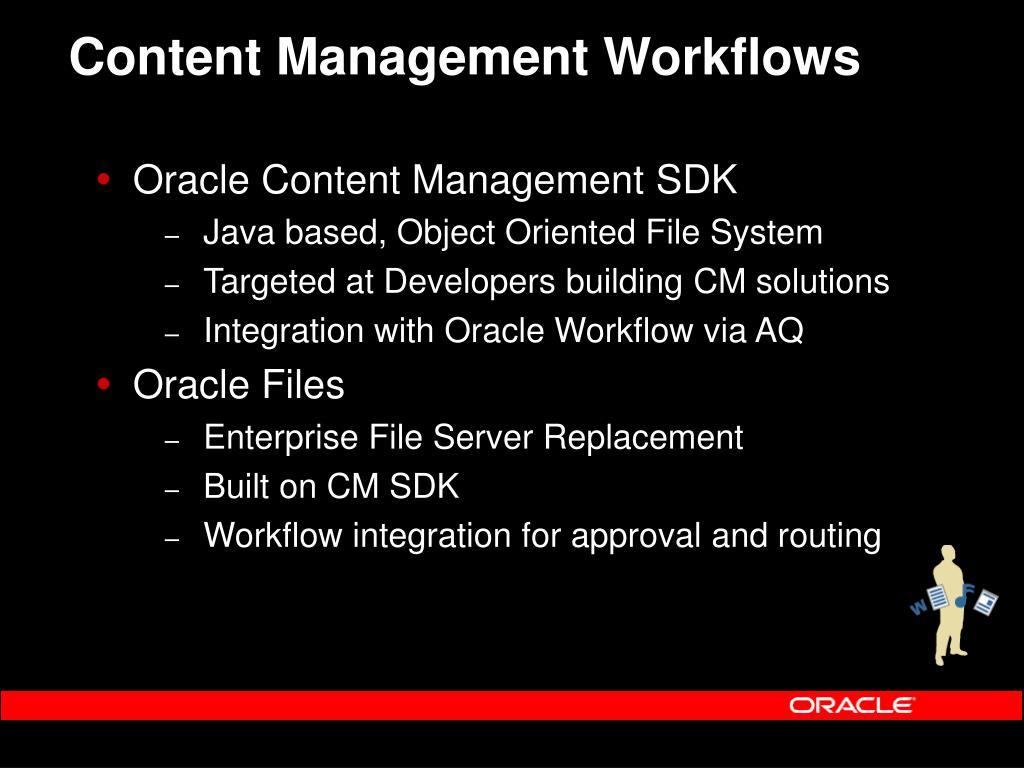 Content Management Workflows