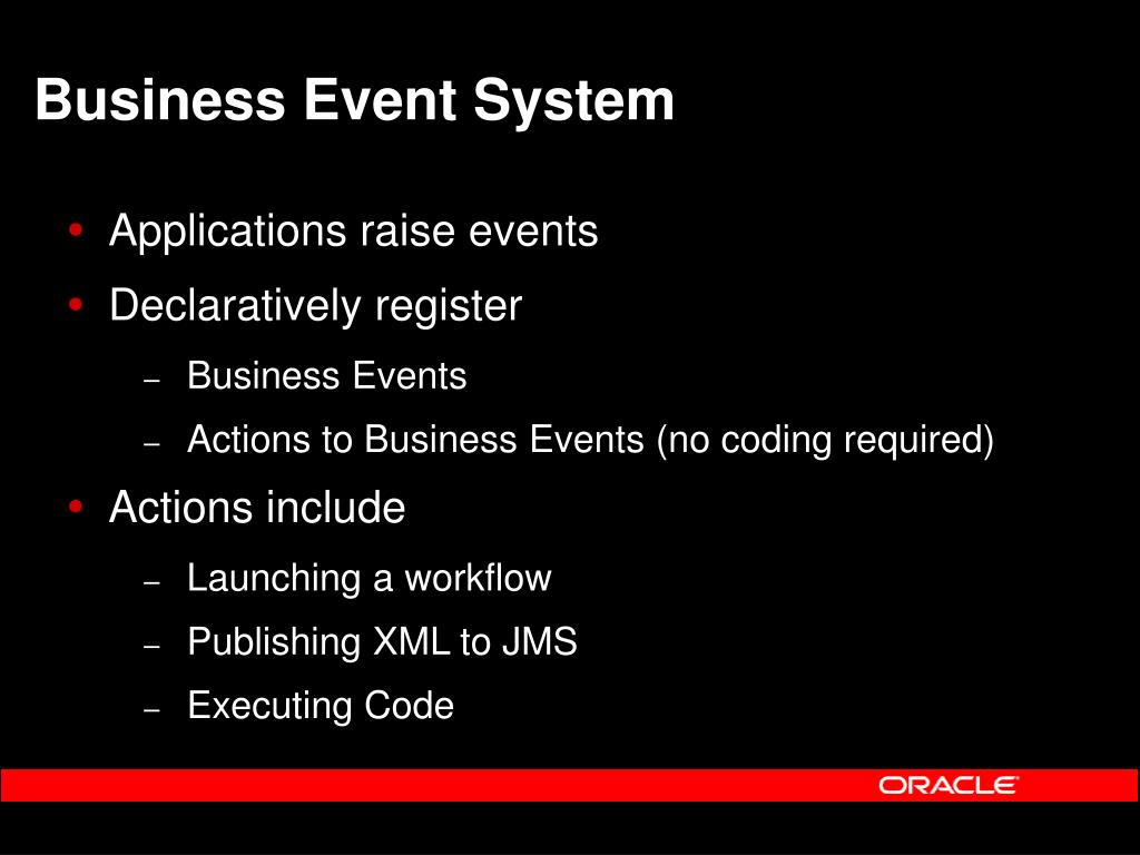 Business Event System