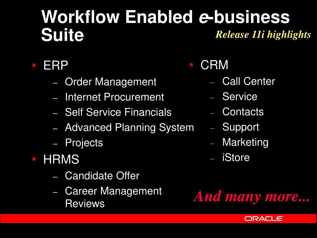 Workflow Enabled