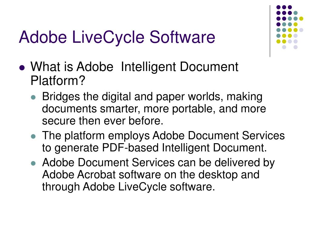 Adobe LiveCycle Software