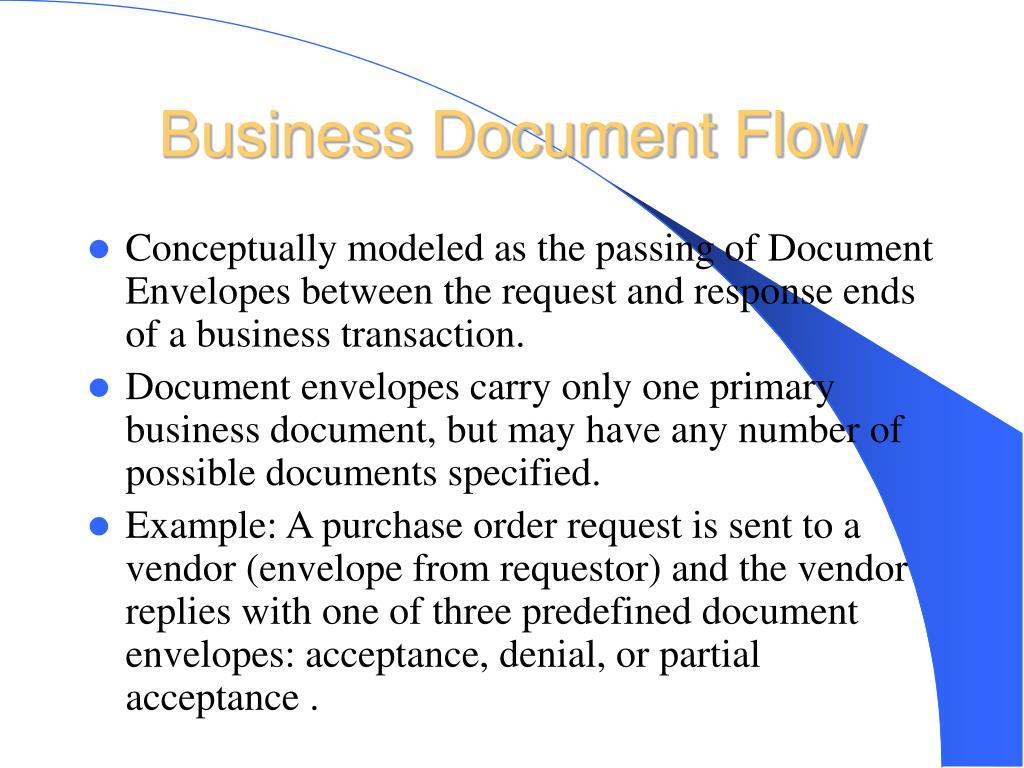 Business Document Flow