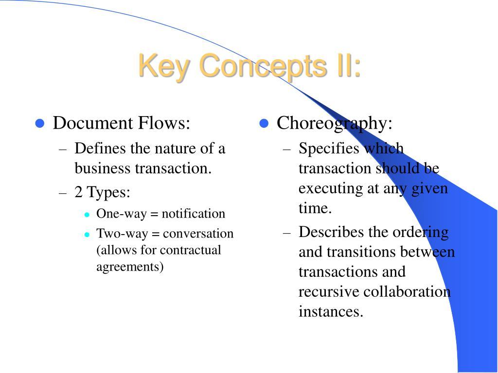Document Flows: