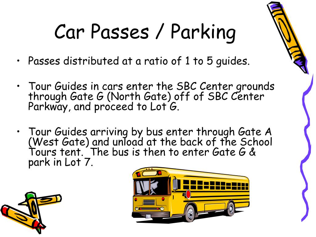 Car Passes / Parking
