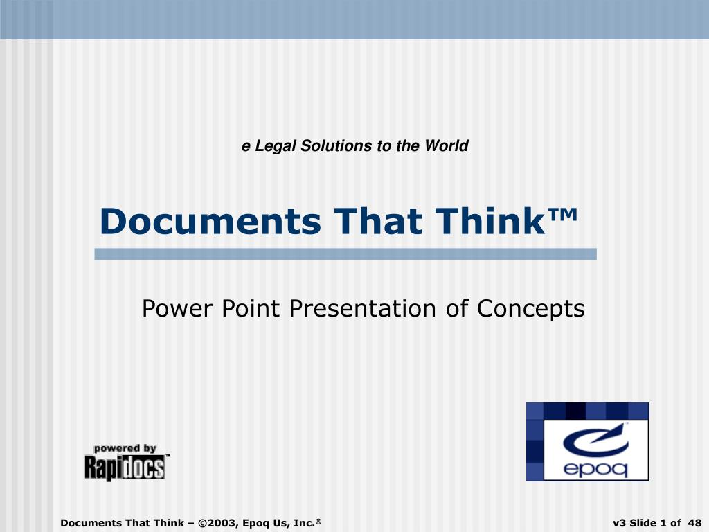 Documents That Think