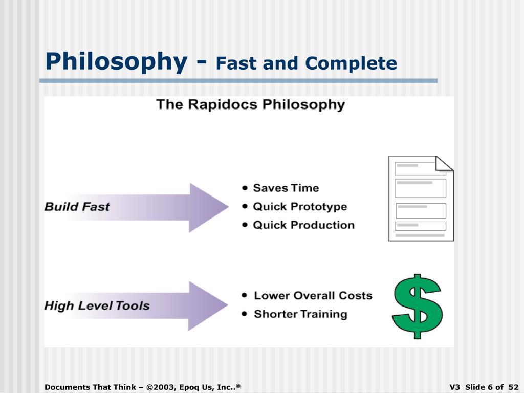 Philosophy -