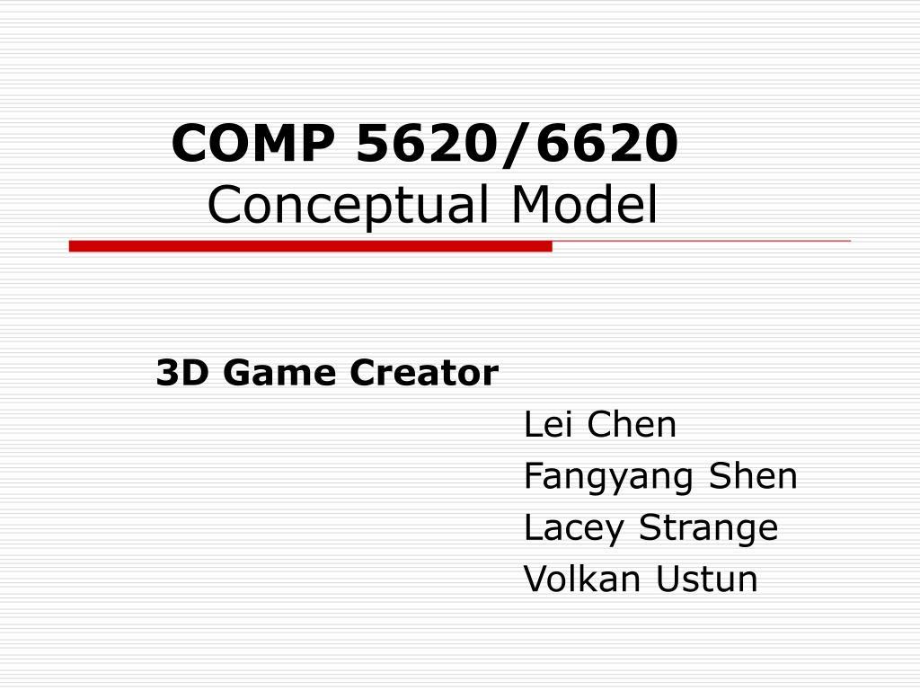 COMP 5620/6620